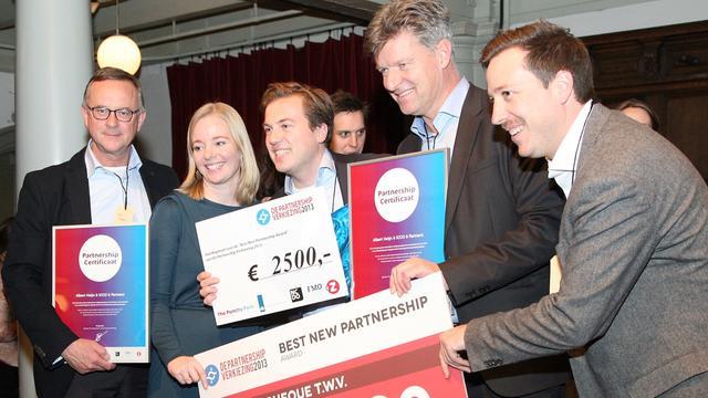 Albert Heijn wint New Partnership Award