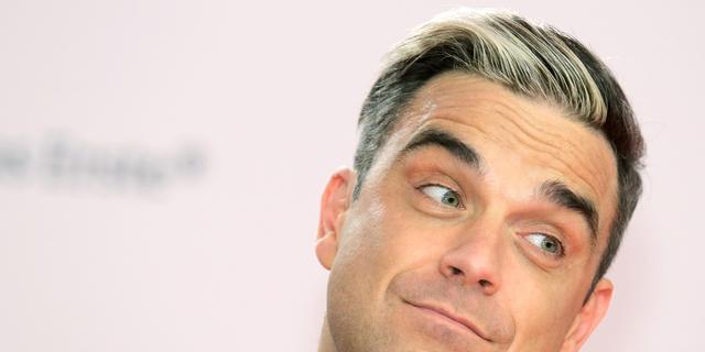 'Robbie Williams krijgt een zoon'