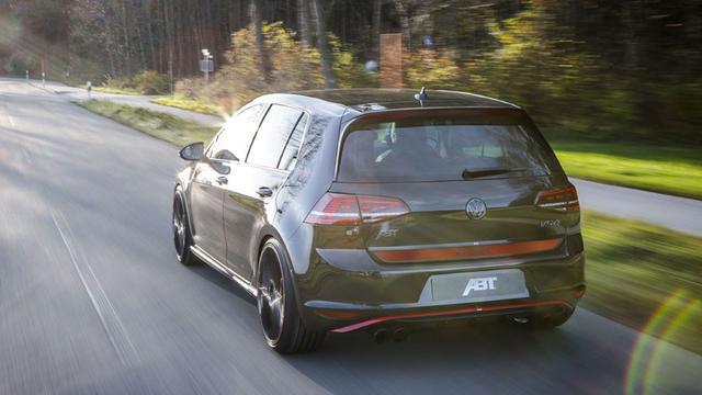 Abt voert Volkswagen Golf GTI op