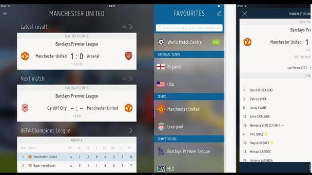 FIFA brengt officiële app uit om 197 competities te volgen