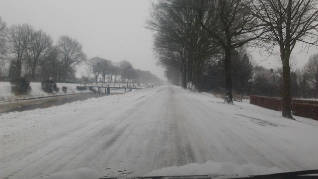 Eerste sneeuwbuien komende week verwacht