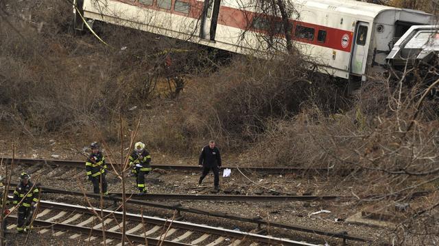 Machinist trein New York verloor concentratie