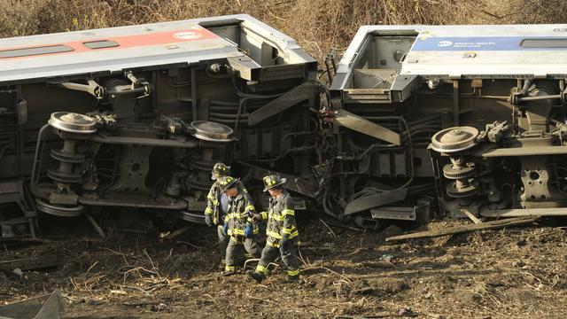 Vier doden door ontspoorde trein New York