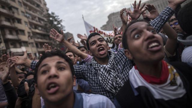 Opnieuw protest bij universiteit Caïro