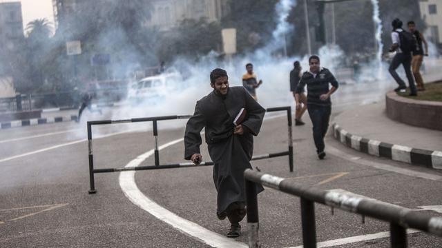 Doden en gewonden bij protesten Egypte