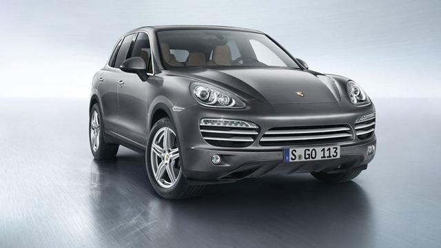 Porsche biedt Cayenne als luxe Platinum Edition