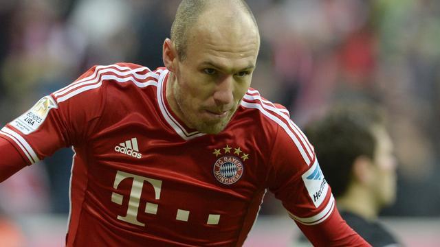 Bayern München maakt zich geen zorgen over contract Robben