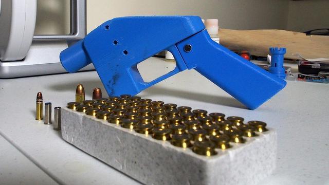 Plastic 3d-geprinte wapens blijven verboden in VS