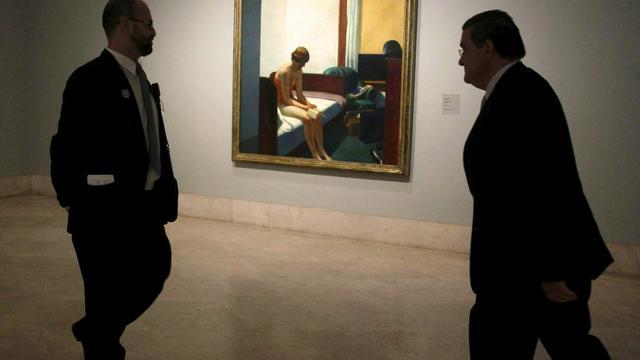 Recordprijs voor schilderij van Edward Hopper