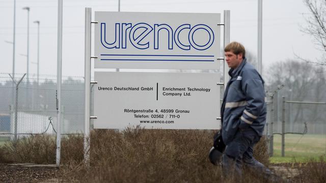 Kabinet niet van plan aandelen Urenco te verkopen