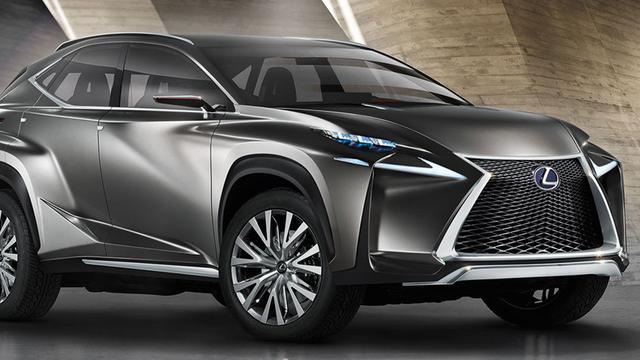 Foto's productieversie Lexus LF-NX verschijnen op internet