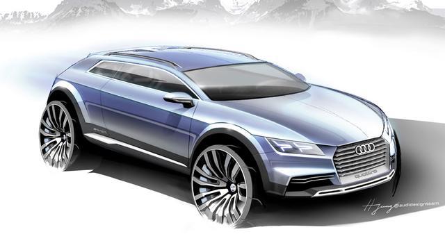 Audi toont voorbode van Q1