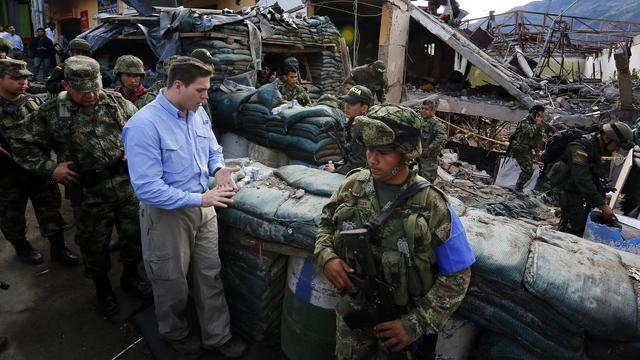 Eerste aanval FARC na opschorten staakt-het-vuren