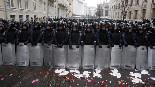 Oekraïense president wil met oppositie praten