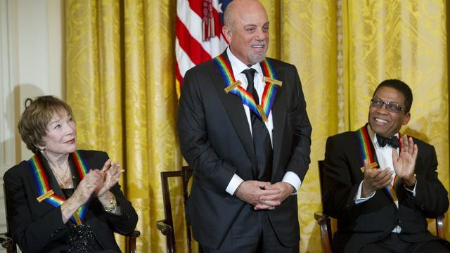 Billy Joel geëerd met Kennedy Center Honor