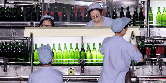Winst Chinese industrie neemt af