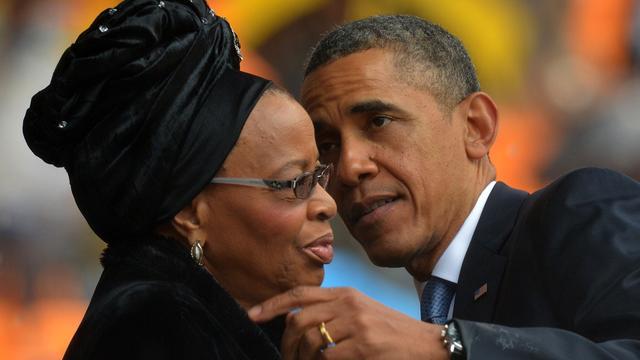 Obama dankt Zuid-Afrika voor het delen van Mandela