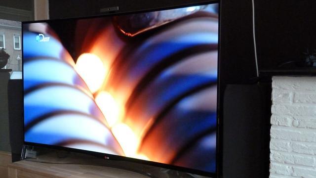 Review: Dure gebogen oled-tv LG heeft superieure beeldkwaliteit