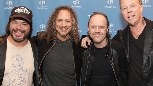 Metallica geeft 'unieke show' op Antarctica