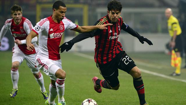 Ajax uitgeschakeld in Champions League door remise bij Milan