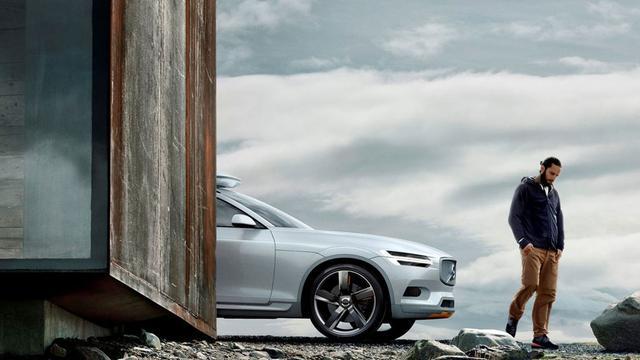 Volvo Concept XC Coupé is voorbode van nieuwe XC90