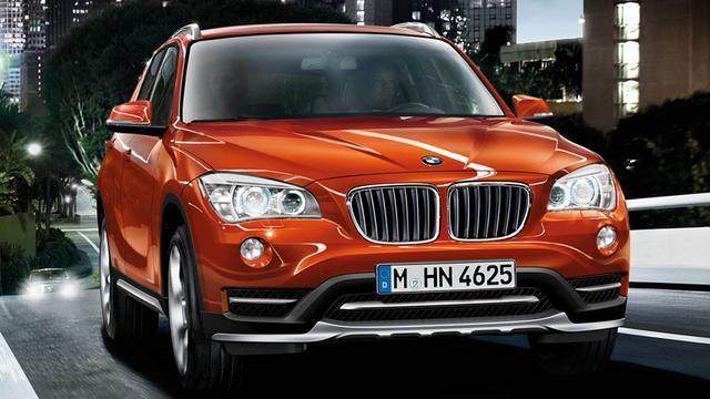 BMW waardeert X1 op