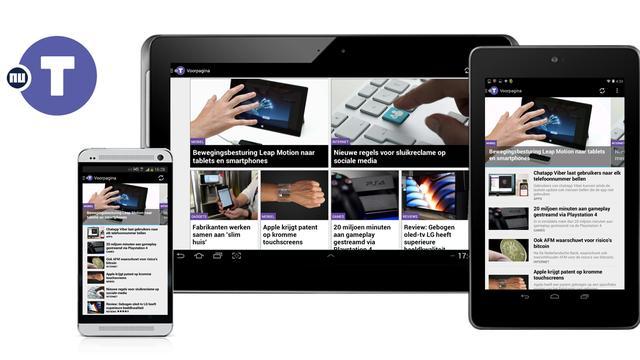 NUtech lanceert Android-app