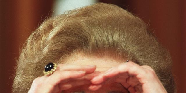Victoria & Albert Museum sloeg garderobe Margaret Thatcher niet af