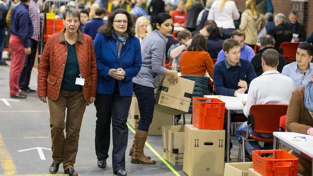 SPD-leden stemmen in met 'Grote Coalitie' Duitsland