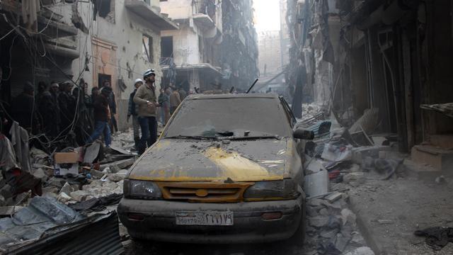 Opnieuw luchtaanvallen op Aleppo