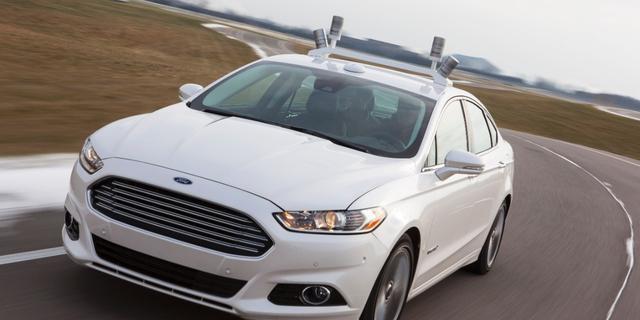 Ford onthult zelfrijdende auto
