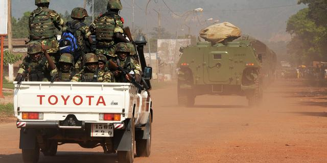 Tientallen doden door gevechten in Centraal-Afrika