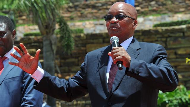 Zuid-Afrikaanse president Zuma ingezworen voor tweede termijn