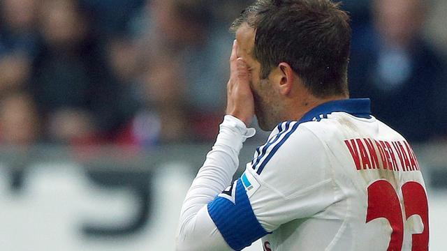 Van der Vaart: 'Als het zo doorgaat, degradeert HSV'