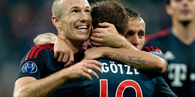 Robben mogelijk bij hervatting Bundesliga weer inzetbaar