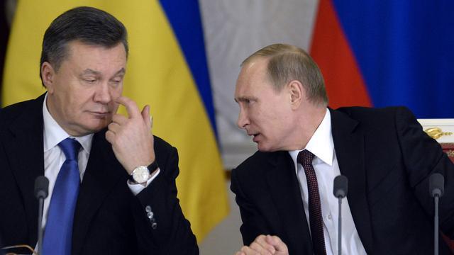 Poetin noemt steun aan Oekraïne broederhulp