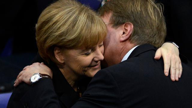 Merkel opnieuw gekozen tot bondskanselier