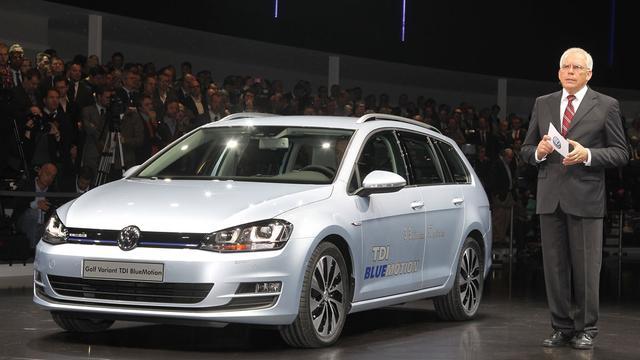 Volkswagen Golf Variant Bluemotion heeft geen 14% bijtelling