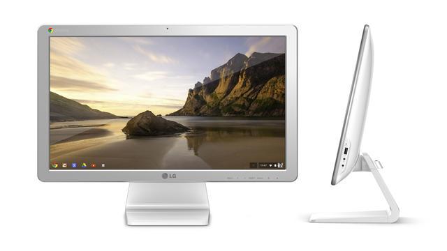 LG maakt eerste all-in-one met Chrome OS