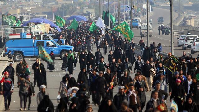 Dodelijke aanslagen op pelgims Irak