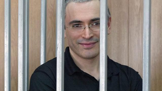 Rol Genscher in vrijlating Chodorkovksi