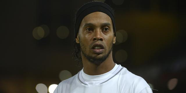 Ronaldinho ziet af van transfer naar Besiktas