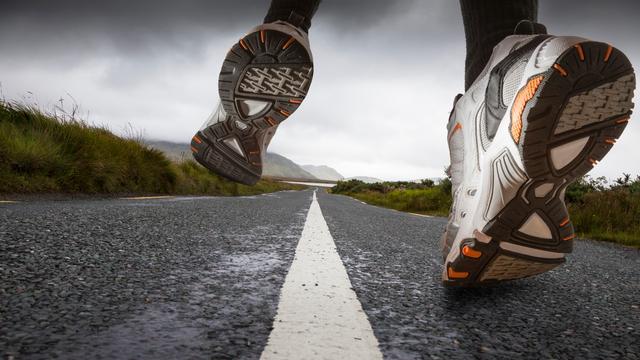 Hardloopschoenen voorkomen geen hardloopblessures
