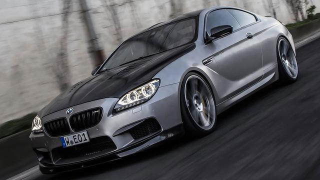 BMW M6 volgens Manhart