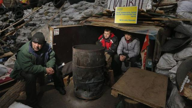 Geen vervolging betogers Oekraïne