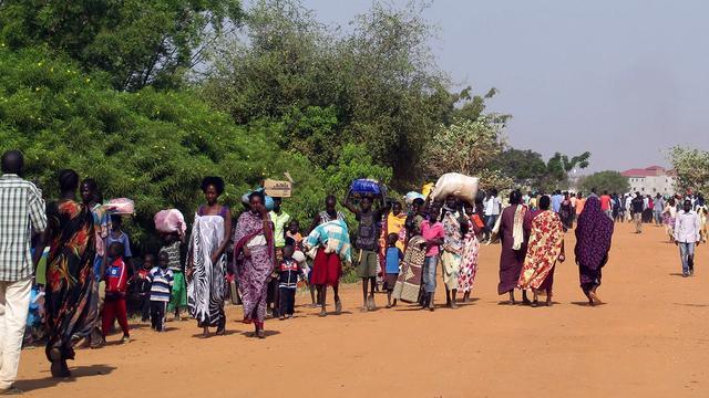 Tienduizenden vluchten voor geweld Zuid-Sudan