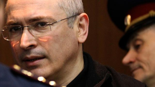 Zwitserland heet Michail Chodorkovski welkom