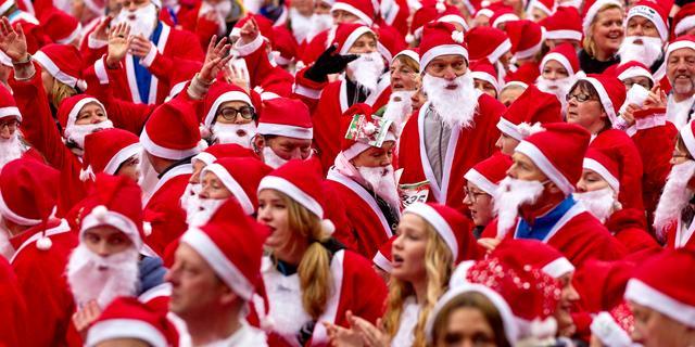 Hardloopevenement Santa Run - Haarlem