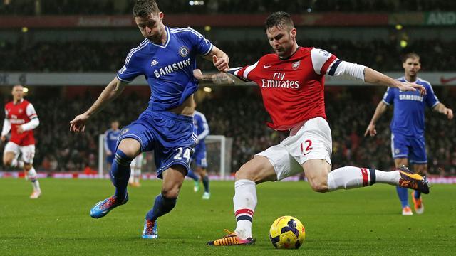 Arsenal en Chelsea gelijk in teleurstellende topper
