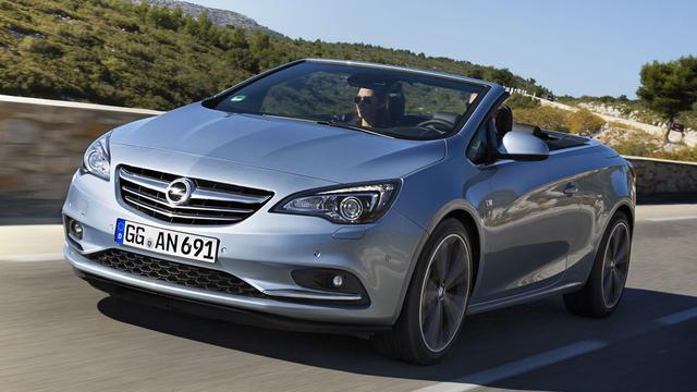 Prijzen Opel Cascada 200 pk bekend